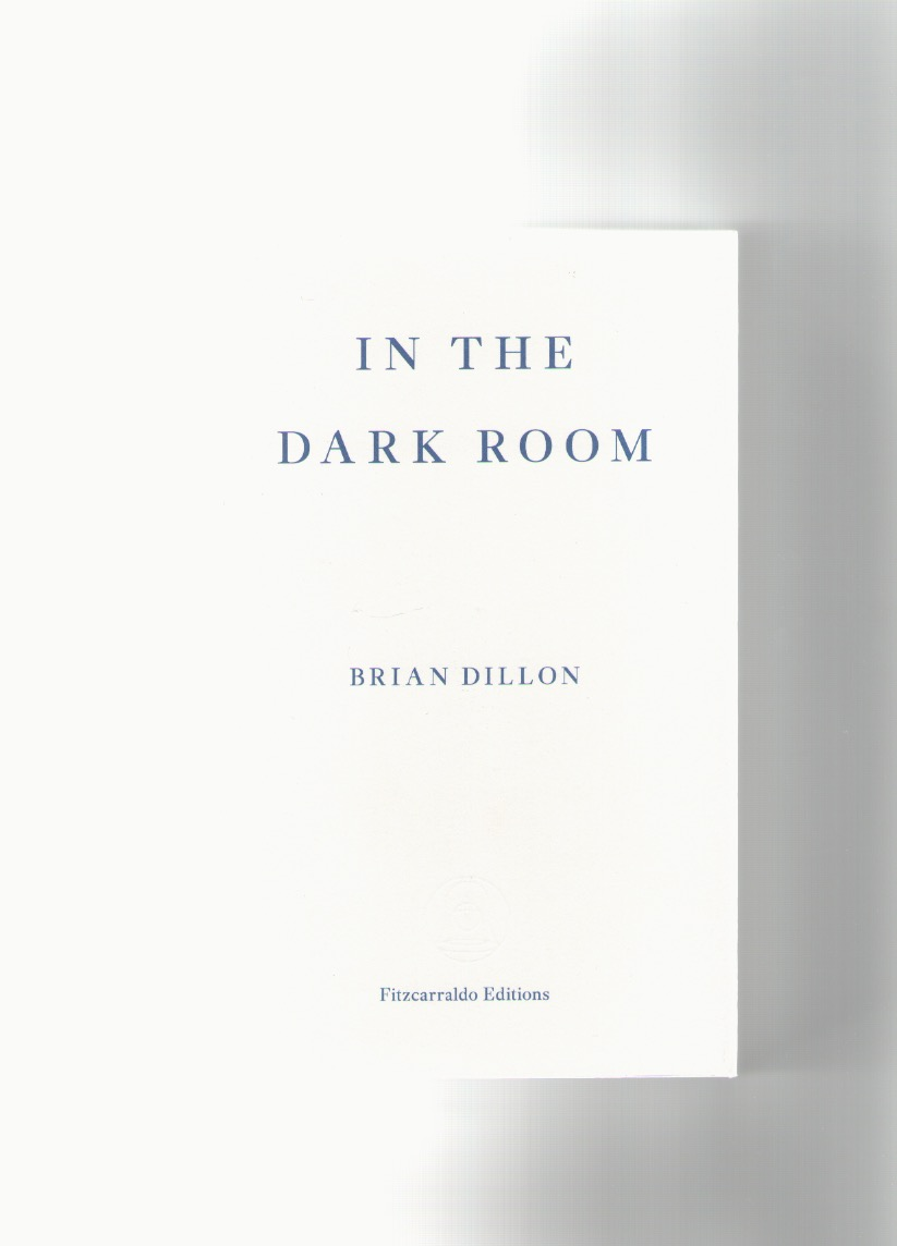 DILLON, Brian - In the dark room