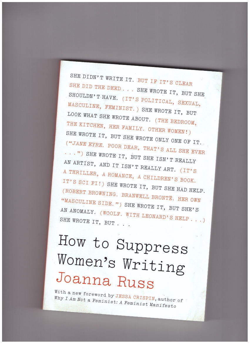 RUSS, Joanna - How to Suppress Women's Writing