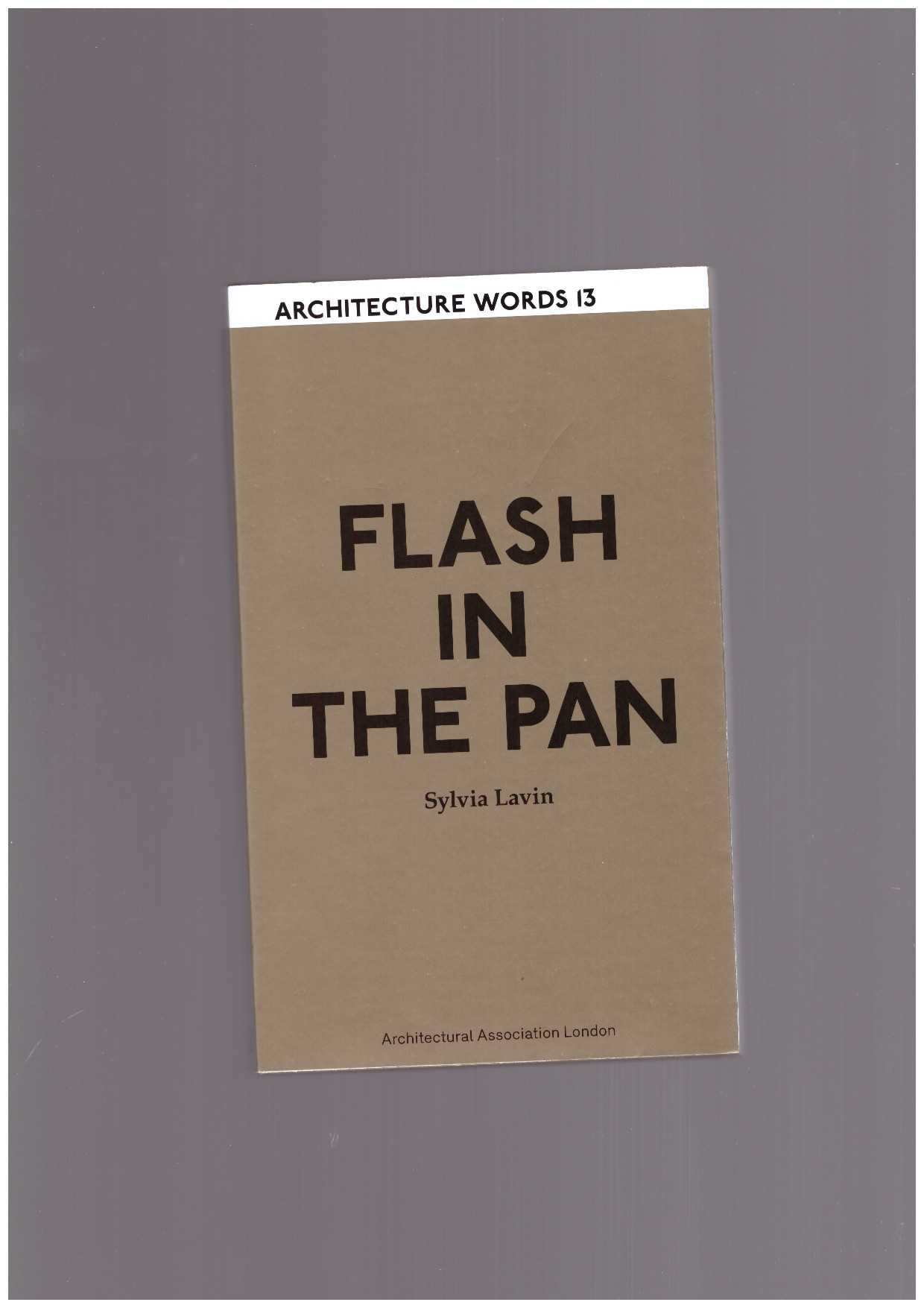 LAVIN, Sylvia - Flash in the pan
