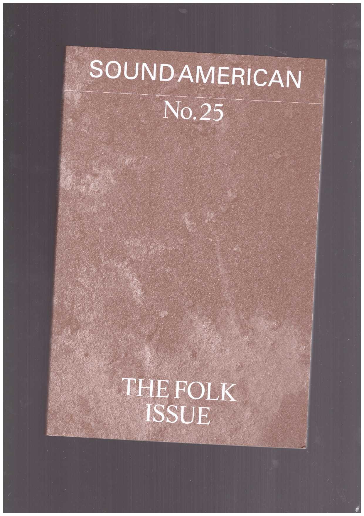 Various - Sound American #25 – The Folk Issue