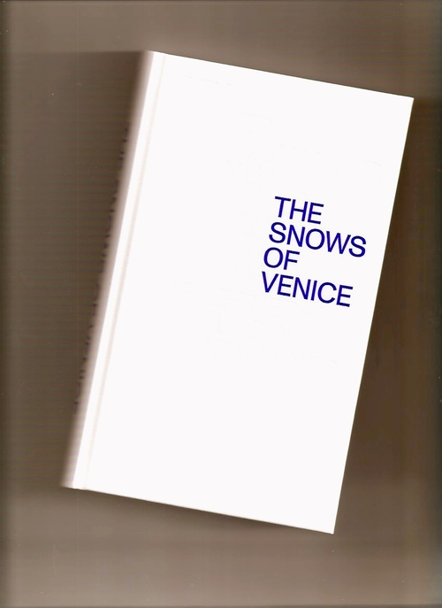 LERNER, Ben; KLUGE, Alexander - The Snows of Venice (Spector Books)