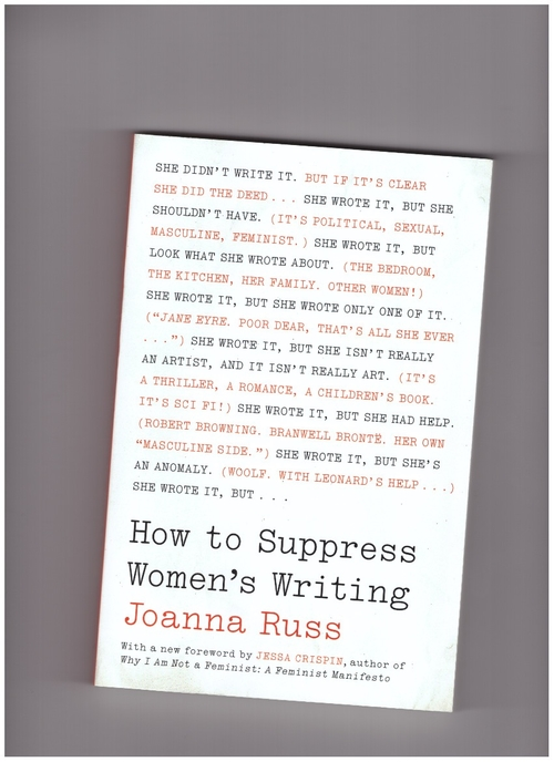RUSS, Joanna - How to Suppress Women's Writing (University of Texas Press)