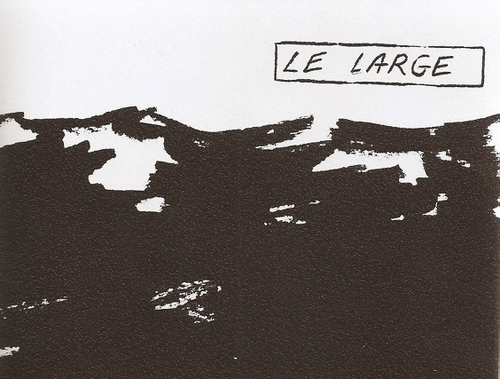 LE LARGE _ Julie Beaufils. Book Launch & Readings at Balice Hertling