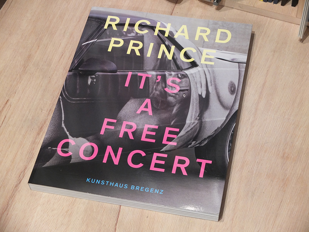 PRINCE, Richard - It's a free concert