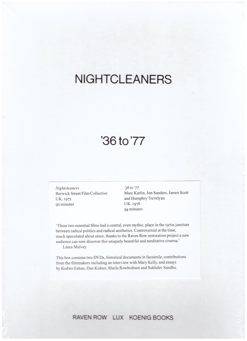 BERWICK STREET FILM COLLECTIVE - Nightcleaners + '36 to '77