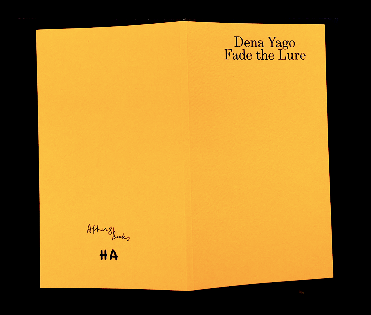 YAGO, Dena - Fade The Lure
