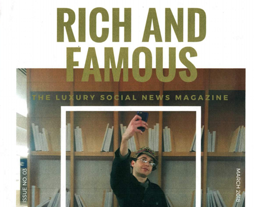 Rich and Famous - magazine launch at Paris Internationale