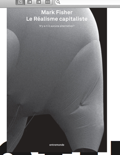 Le Réalisme capitaliste, par Mark Fisher -- booklaunch !